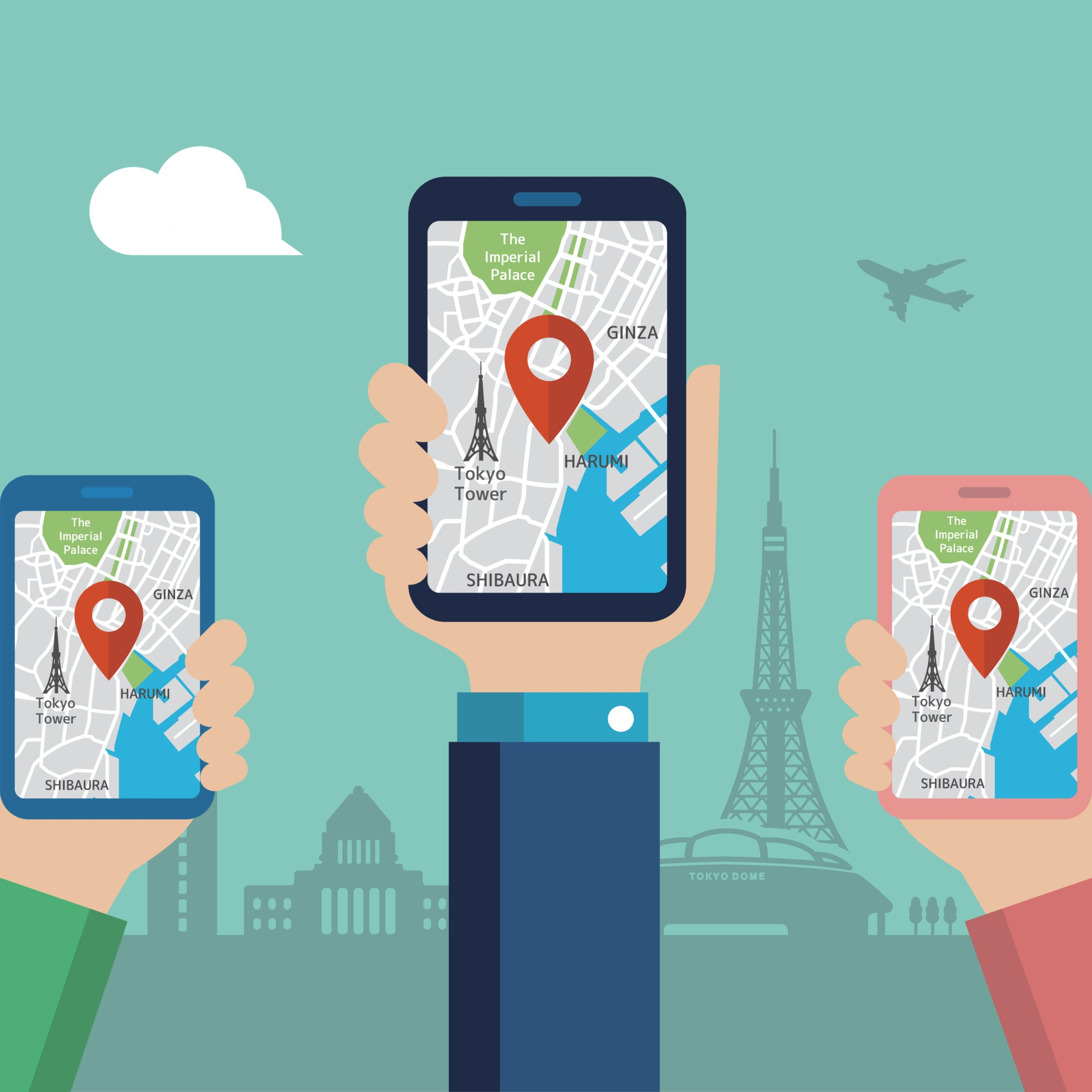 google maps pin - How to Create Google My Business Listings For Businesses Sharing The Same Address